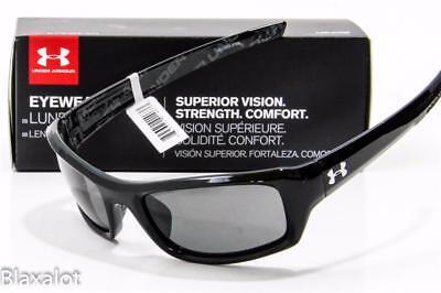 NEW UNDER ARMOUR SURGE SUNGLASSES Black frame /Grey lens UA 8600033-5100
