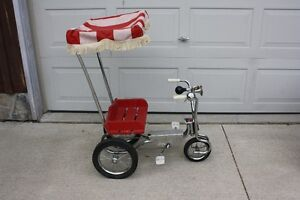 1993 Kids Trike c/w Canopy,Great Display Item Clean