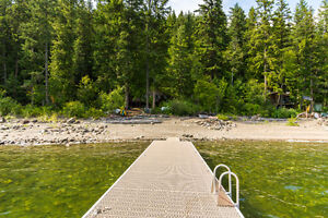 0 Tillis Landing Beach, Sicamous-100 FEET OF SHUSWAP WATERFRONT!