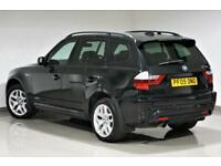 2009 Sapphire Black BMW X3 2.0d M Sport - FINANCE - P/X SWAP -