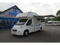 2008 COMPASS AVANTGARDE 140 MOTORHOME 4 BERTH 2 TRAVELLING SEATS 2.2 DIESEL 5 SP