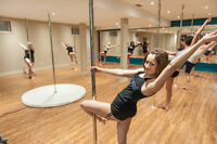 Be Strong and Sexy with Sensual Serenity Pole Fitness!