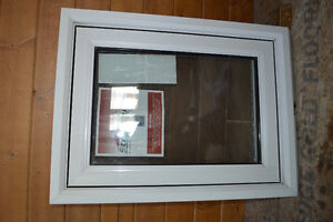 Vinyl Frame Awning Window - never installed
