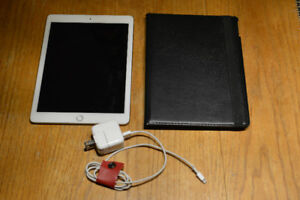 iPad Air 2 - wifi - 64GB with a case.