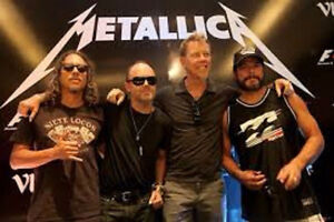Metallica ***HARD COPY TICKETS***