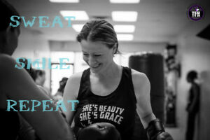Come and try Women's Only Kickboxing  in Burlington!
