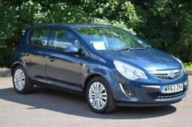 2013 VAUXHALL CORSA Vauxhall Corsa 1.4 Energy 5dr [AC] LOW MILEAGE