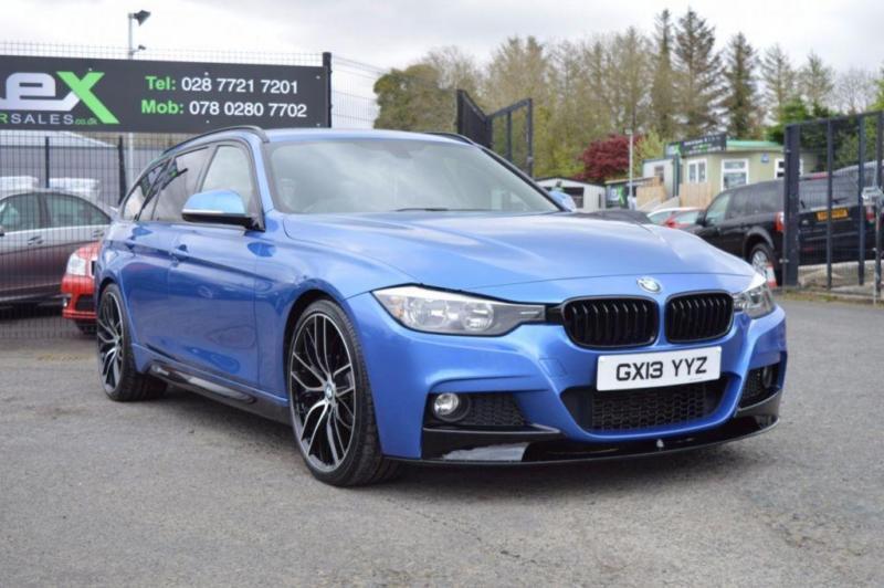 2013 13 BMW 3 SERIES 2.0 320D M SPORT TOURING 5D 181 BHP M-PERFORMANCE DIESEL