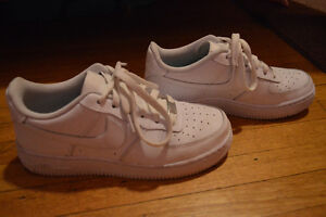 White Nike Air Force 1's For Sale!!