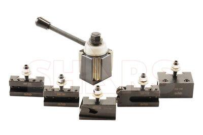Shars 14-20 Cnc Lathe Ca Wedge Quick Change Tool Post Set 250-444 Aloris New R
