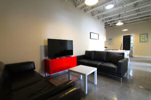 5 Bedroom Loft Downtown- Aug 25th- 8 months - Furnished/All Inc