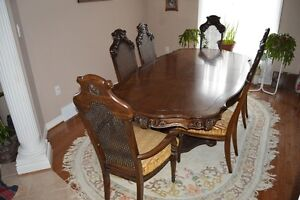 Canadian Made Table Set with Hutch