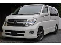 2008 (08) Nissan Elgrand HWS Red Leather Premium Edition 4x4