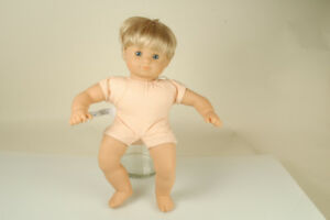 American Girl Doll Bitty Baby Short Blonde Hair Blue Eyes