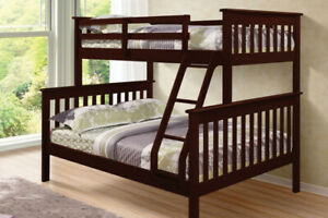 NEW ★ Splittable ★ Solid Wood ★ Bunk Beds ★ Twin over Double