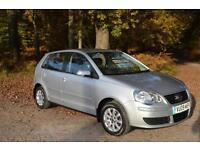 2009 VOLKSWAGEN POLO 1.4 SE 80 5dr Auto ONLY 17,000 MILES