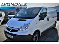 2014 VAUXHALL VIVARO 2900 CDTI ECOFLEX LWB VAN WITH TAIL GATE AND SAT NAV RARE P