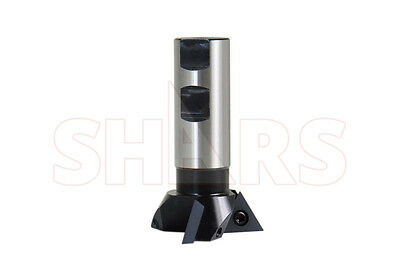 Shars 2-14 Diameter Cutter Indexable 60 Degree Dovetail Mill Cutting New