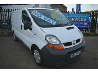2002 RENAULT TRAFIC 1.9 DCi VAN *NO VAT* YEARS MOT *NEW TIMING BELT KIT VIVARO