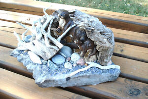 3-D Hand Crafted Table Sculpture - Otters Along Rivers Edge Peterborough Peterborough Area image 5