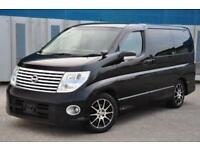 2007 (57) NISSAN ELGRAND HIGHWAY STAR SILVER LEATHER EDITION
