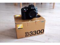 Nikon d3300 BODY black * boxed