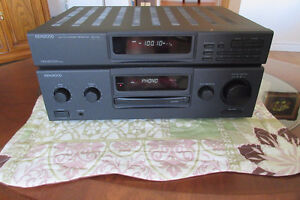 Stereo Receiver with FM Tuner plus CD Player plus Speakers