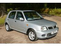 1999 NISSAN MICRA 1.3 SE 5dr Auto ONLY 37,000 MILES
