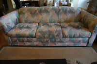 SOFA, DRESSER, BED AND BOOKSHELF FOR SALE! CHEAP! MUST SELL!!