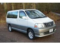 2001 TOYOTA GRAND HIACE WELCAB 4X4