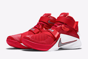 Nike Lebron Soldiers 9 TB Red and White