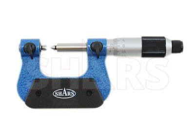 Shars 0-25mm 0.01mm Metric Screw Thread Micrometer 25 Mm Interchangeable Anvil P