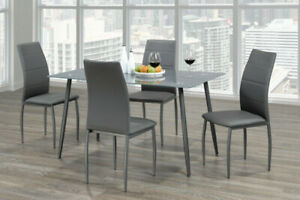 Frosted Grey Dining Set - Brand New in Box