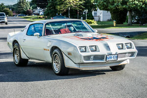 1980 Trans am for sale