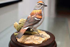 "Limited KAISER Porcelain ""Chipping Sparrow"" FIGURINE"