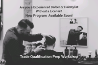 Are you a Experienced Barber or Hairstylist without a License?