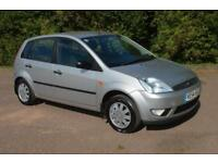 2005 FORD FIESTA 1.4 Ghia 5 Door VERY LOW MILEAGE