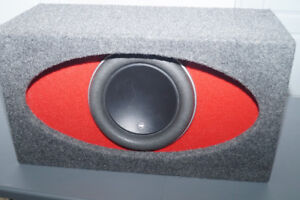 JL AUDIO 12W7 H.O. Wedge, Ported subwoofer box
