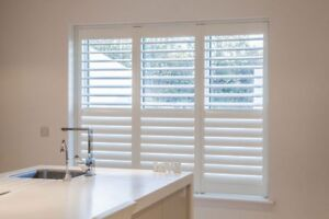 crafted wooden shutters