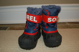 Sorel Winter Boots Size 4