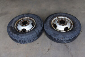 "16"" Dually Tires / Rims from 1998 Dodge Ram 3500 Cummins Diesel"