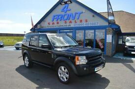2007 LAND ROVER DISCOVERY 3 TDV6 HSE 2.7 DIESEL AUTOMATIC 7 SEATER 5 DOOR 4X4 4X