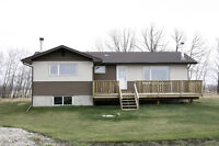 Acreage and Home with Shop near Strathmore