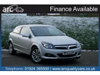 2007 Vauxhall Astra 1.6i 16V SXi [115] 3dr 3 door Coupe