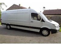 RELIABLE £15ph MAN AND VAN HIRE, SHORT-NOTICE REMOVALS SERVICES CALL NOW
