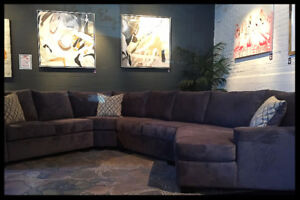 "25% OFF Custom ""Macaya"" Sectional - Canadian Made"