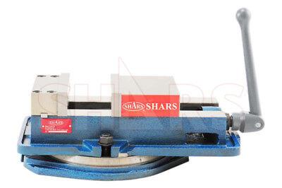 Shars 6 X 5.9 Precision Mill Vise Anti-jaw Lifting W Swivel Base Cnc New
