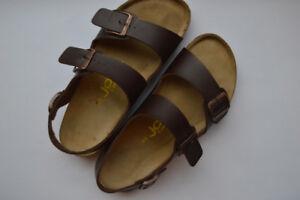 Men's Leather Sandals - size 10.5