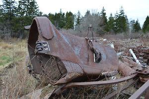 Crane dragline bucket