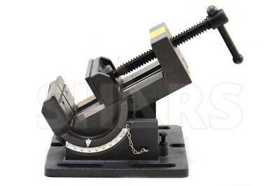 Shars 4-14 Precision Drill Press Tilting Tilt Vise Horz Vert New